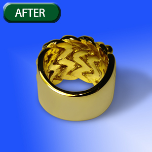 basic jewelry ring retouch